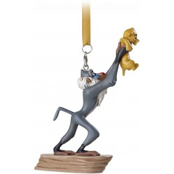 Disney The Lion King Rafiki holding Simba Hanging Ornament