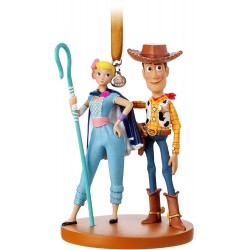 Disney Woody and Bo Peep Hanging Ornament, Toy Story 4