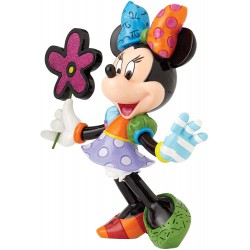 Disney by Britto Minnie Mouse with Flowers Stone Resin Figurine