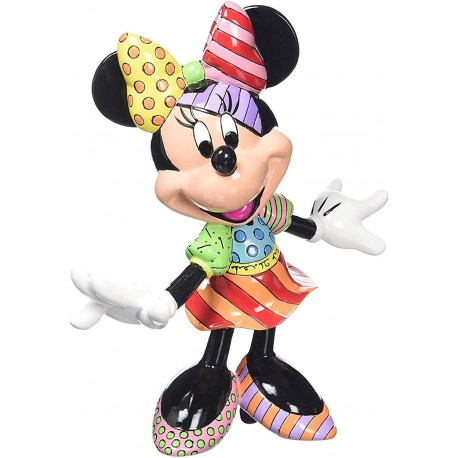 Romero Britto Minnie Mouse Pop Art Figurine