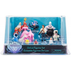 Disney The Little Mermaid Deluxe Figurine Playset