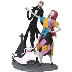 Possible Dreams Jack Sally and Zero Figurine Nightmare Before Christma