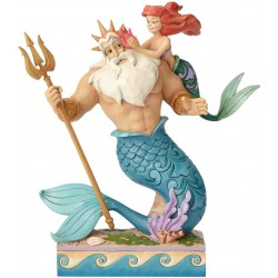 Enesco Disney Traditions by Jim Shore Little Mermaid Ariel and Triton Figurine