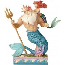 Enesco Disney Traditions by Jim Shore Little Mermaid Ariel and Triton Figurine