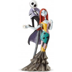 Enesco Disney Showcase Couture de Force Nightmare Before Christmas Jack and Sally Deluxe Figurine