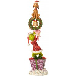 Enesco Dr. Seuss The Grinch by Jim Shore Stacked Characters Figurine