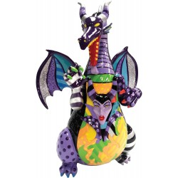"Enesco Disney by Britto Maleficent Dragon from ""Sleeping Beauty"" Stone Resin Figurine"