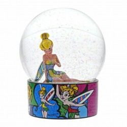 Disney Britto Tinker Bell Waterball Figurine