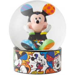 Enesco Disney by Britto Mickey Mouse Waterglobe Waterball