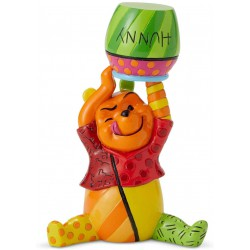 "Enesco Winnie The Pooh"" from Disney by Britto Line Figurine"
