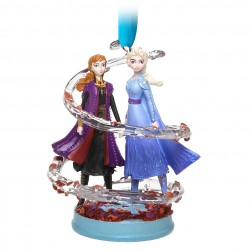 Anna and Elsa Sketchbook Ornament – Frozen 2