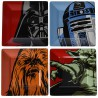 Star Wars Plate Set: Iconic Character Graphics (Set of 4)