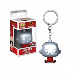 Funko Pocket Pop Keychain The Incredibles Jack-Jack Silver