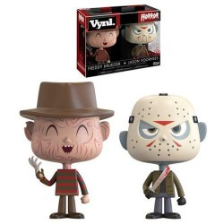 "Vynl. 4"" - Horror - Freddy Kruger & Jason Voorhees"