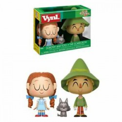 "Vynl. 4"" - Wizard of Oz - Toto & Scarecrow"