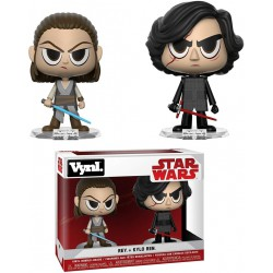 "Vynl. 4"" - Star Wars - Rey & Kylo 2-pack"