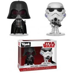 """Vynl. 4"""" - Star Wars - Darth Vader & Stormtrooper"""