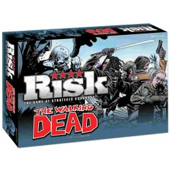 Risk The Walking Dead Boardgame