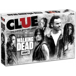The Walking Dead Clue Boardgame