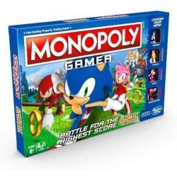 Monopoly Gamer Sonic Boardgame
