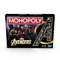 Marvel Avengers Board Game Monopoly