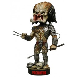 Predator Head Knocker Bobble-Head Predator with Spear