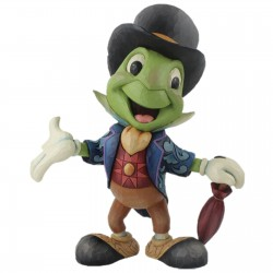 Enesco Disney Traditions - Cricket's the Name. Jiminy Cricket (Jiminy Cricket Statement Figurine)