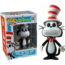 Funko Pop 04 Dr. Seuss The Cat in the Hat (Flocked)