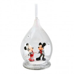 Disney Mickey and Minnie Limited Edition Bauble Hanging Ornament