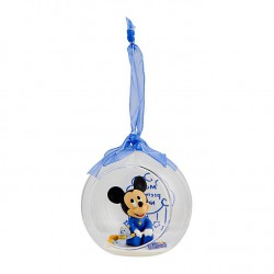 Mickey Mouse Christmas Bauble for Baby Ornament