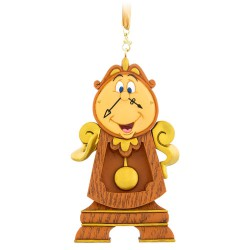 Disney Cogsworth Hanging Ornament, Beauty & The Beast