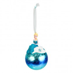 Disneyl Elsa Blue Hanging Ornament