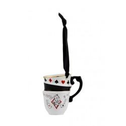 Disney Alice in Wonderland Stacked Teacups Hanging Ornament