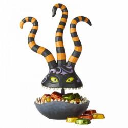 Nightmare Before Christmas Harlequin Demon Candy Dish Figurine