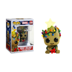Funko Pop 530 Marvel Groot Holiday