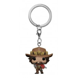 Overwatch Pocket POP! Vinyl Keychain McCree 4 cm