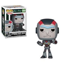 Funko Pop 566 Rick & Morty Purge Suit Rick