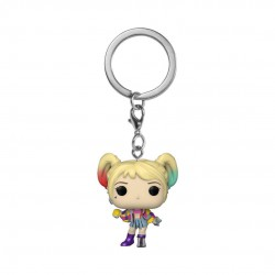 Birds of Prey Pocket POP! Vinyl Keychain Harley Quinn (Caution Tape) 4 cm