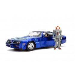 Stephen King's It Diecast Model 1/24 Pontiac Firebird with Pennywise