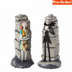 Pre Order - Disney Ceramics Jack and Sally Salt and Pepper Shakers