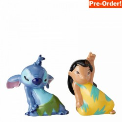 Pre Order - Disney Ceramics Lilo and Stitch Salt and Pepper Shakers