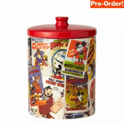 Pre Order - Disney Ceramics Mickey Mouse Collage Cookie Jar
