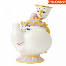 Pre Order - Disney Ceramics Mrs Potts and Chip Cookie Jar