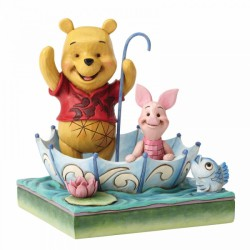 Disney Traditions - 50 Years of Friendship (Winnie the Pooh and Piglet Figurine)
