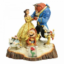 Disney Traditions - Tale as Old as Time (Carved by Heart Beauty and The Beast)