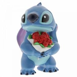 Disney Showcase - Stitch Flowers Figurine