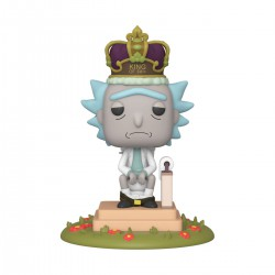 Funko Pop! Cartoons: Rick and Morty - King of $h!+ with Sound