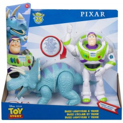 Disney Toy Story Buzz Lightyear & Trixie 2-pack Figure set