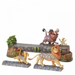 Disney Traditions - Carefree Camaraderie (Simba, Timon and Pumbaa Figurine)