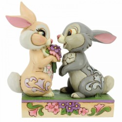 Disney Traditions - Bunny Bouquet (Thumper and Blossom Figurine)